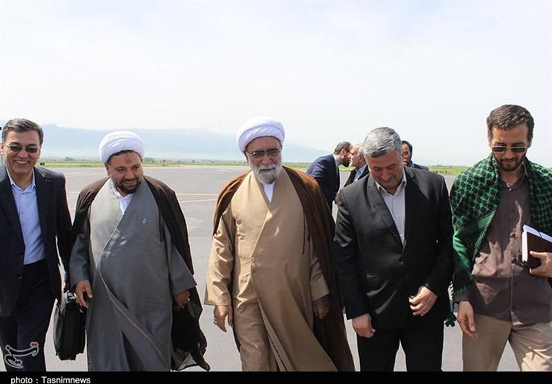 تولیت آستان قدس رضوی برای بازدید از مناطق سیلزده وارد گلستان شد + تصاویر