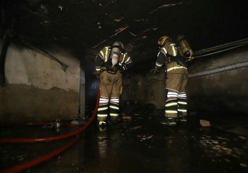 مرد میانسال منزل پدریاش را به آتش کشید