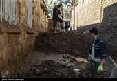 همدلی دیدنی ملت ایران با مردم سیلزده معمولان + فیلم
