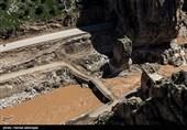 روند بازسازی جاده معمولان به پلدختر توسط نیروی زمینی سپاه + فیلم