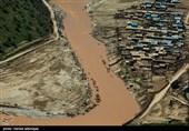 روستای سیل زده معمولان پلدختر- لرستان