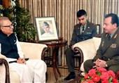 تاجیکستان و پاکستان درباره گسترش همکاری های نظامی و امنیتی گفتگو کردند