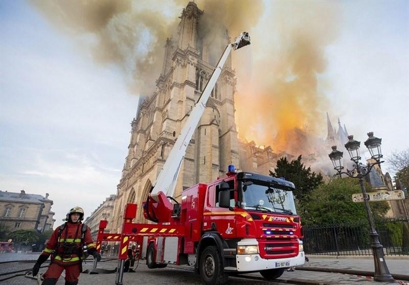 """حقیقتی ناگفته از ارتباط آتشسوزی """"کلیسای نوتردام"""" پاریس با آتشسوزی """"پلاسکو"""" تهران + تصاویر"""
