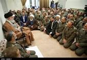Ayatollah Khamenei Lauds Unity of Iranian Armed Forces