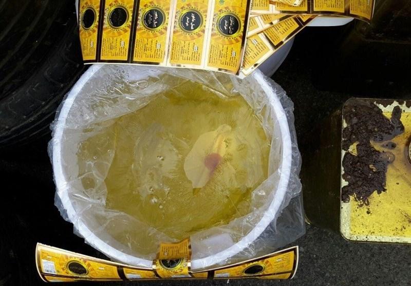 کشف 6 تن عسل تقلبی + تصاویر