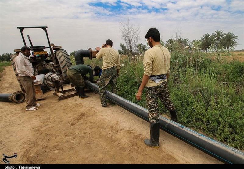 اهواز| آماده سازی روستاها برای بازگشت سیلزدگان عملیات جدید گروههای جهادی است