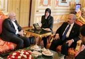دیدار ظریف با رئیس پارلمان ترکیه