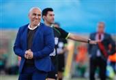 اصفهان| منصوریان: کت و شلوار آبی را از قبل برای بازی مقابل پرسپولیس آماده کرده بودم/ از نتیجه راضی نیستیم چون میتوانستیم بازی را ببریم