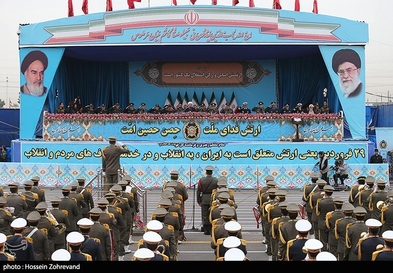 Iran Celebrates National Army Day