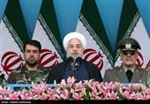روحانی: توهین به نیروهای مسلح توهین به ملت ایران است/سردمداران آمریکا در اوهام خود غرق شدهاند
