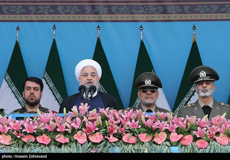President Rouhani: Iranian Armed Forces Serve Regional Security