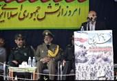استاندار کرمان: ارتش جمهوری اسلامی در خط مقدم دفاع از مظلومان قرار دارد