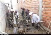 لایروبی و بهسازی منازل سیلزدگان در گلستان توسط نماینده ولی فقیه در خراسان شمالی+تصاویر