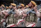 نمایش اقتدار نیروهای مسلح مستقر در آذربایجان شرقی در رژه روز ارتش