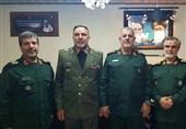 دیدار فرماندهان نیروهای زمینی ارتش وسپاه + عکس