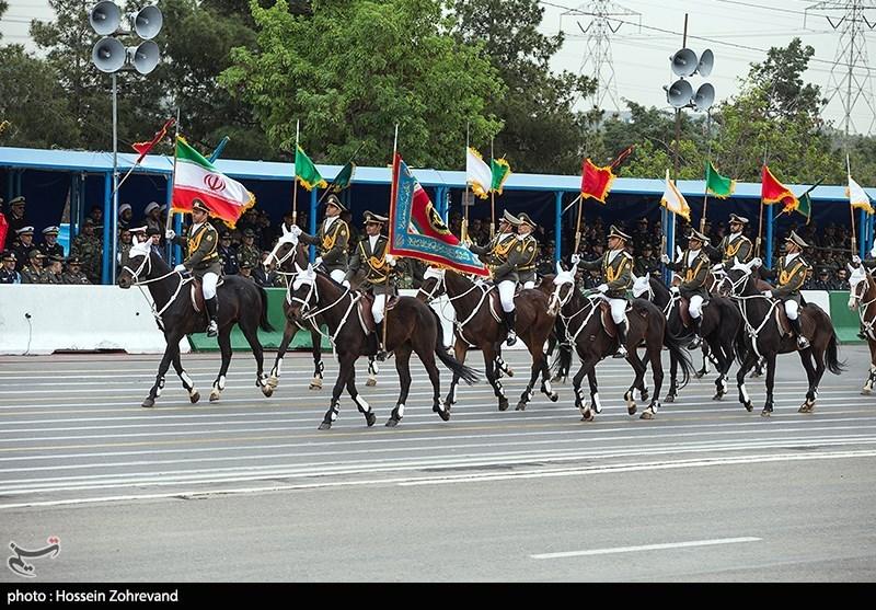 مراسم رژه روز ارتش در تهران