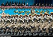 رژه نیروهای مسلح در تهران و سراسر کشور آغاز شد