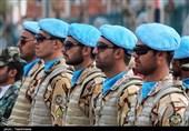 مراسم رژه نیروهای مسلح به مناسبت روز ارتش در بجنورد به روایت تصویر