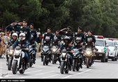 مراسم رژه روز ارتش در قزوین