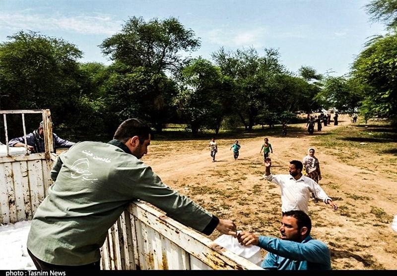 موکبهای اربعین کاشان در خوزستان برپا شدند