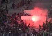 فوتبال جهان  درگیری شدید پلیس مراکش با هواداران فوتبال
