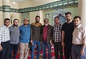 """4000 ویزیت رایگان هدیه تیم جهادی """"صراط الحمید"""" مشهد به مردم سیلزده خوزستان"""