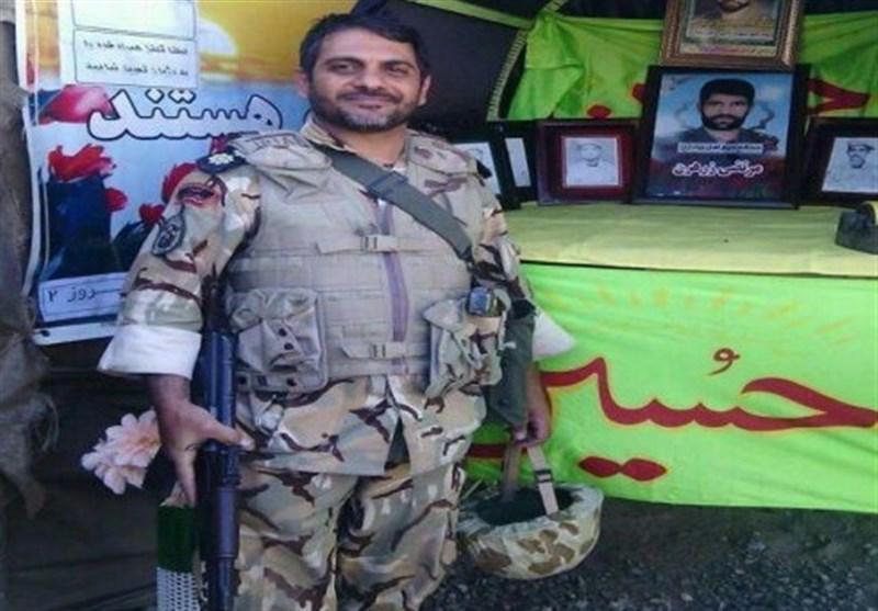 سرهنگ فداکار ارتشی: انشاالله بتوانم سرباز خوبی برای مردم، مقام معظم رهبری و کشورمان باشم