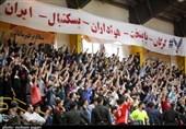 شهرداری گرگان به فینال لیگ برتر بسکتبال نزدیک شد + فیلم