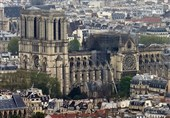 کمک 500 هزار یورویی کمیته بینالمللی المپیک برای بازسازی نوتردام