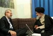 رئیس مجلس شورای اسلامی با آیتالله علوی گرگانی دیدار کرد
