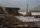 محلهای که سیل پلدختر با خود برد