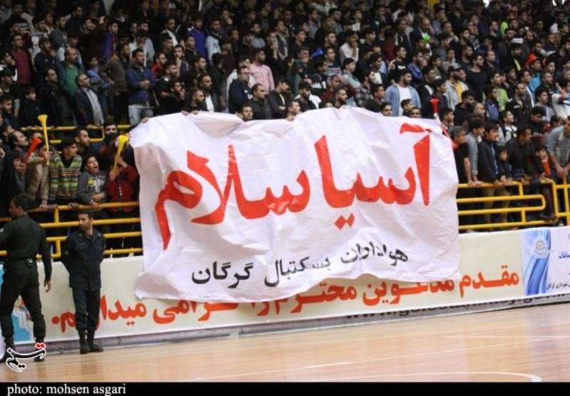 نخستین صعود تیم شهرداری گرگان به فینال لیگ برتر؛صعود گرگان به مسابقات غرب آسیا + فیلم