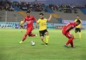 لیگ برتر فوتبال| تقسیم امتیازات پارس جنوبی و سپیدرود در جم