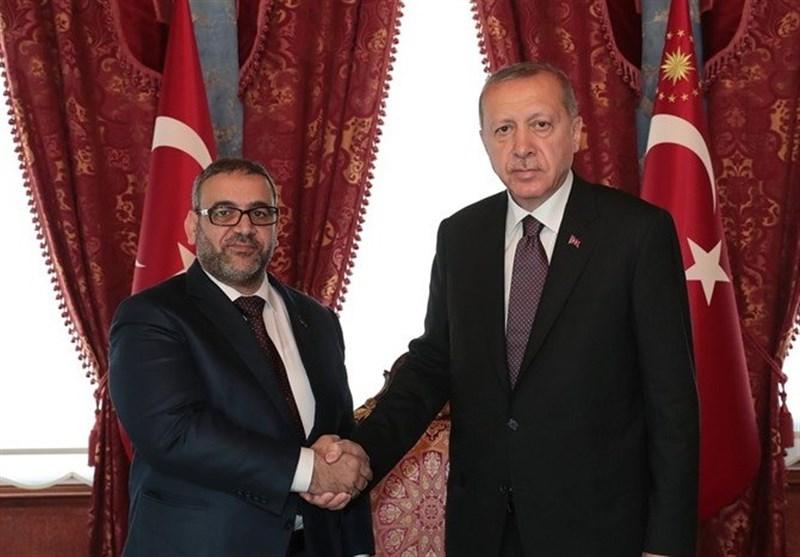 دیدار یک مقام بلندپایه لیبی با اردوغان