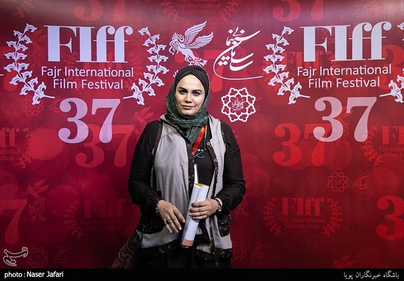 نرگس آبیار در دومین روز سیوهفتمین جشنواره جهانی فیلم فجر
