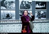فاطمه معتمد آریا در دومین روز سیوهفتمین جشنواره جهانی فیلم فجر