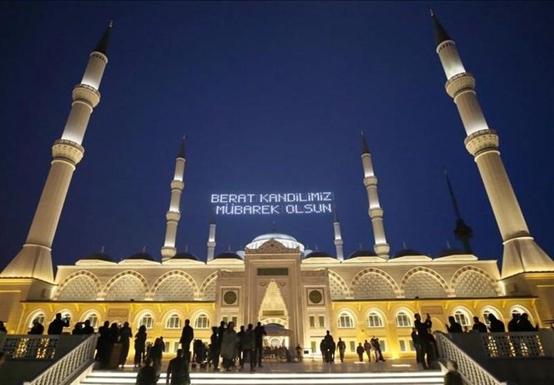 مردم ترکیه شب برات را در مساجد گرامی داشتند