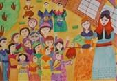 کودکان ایرانی برگزیده دوسالانه نقاشی کاناگاوا ژاپن شدند