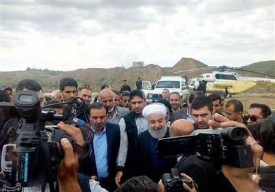 رئیس جمهور: مسئولیت بازسازی مناطق سیلزده به وزیر کشور واگذار شد / قول میدهم که دولت در کنار مردم سیلزده خواهد بود