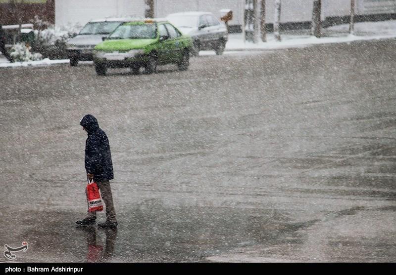 باران و برف در ۲۳ استان؛ کاهش ۱۰ درجهای دما