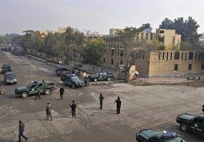 حمله مهاجمان به وزارت مخابرات افغانستان در کابل