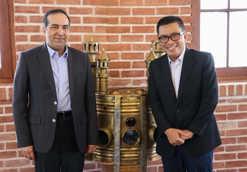 دیدار رئیس سازمان تلویزیون ملی اندونزی با حسین انتظامی