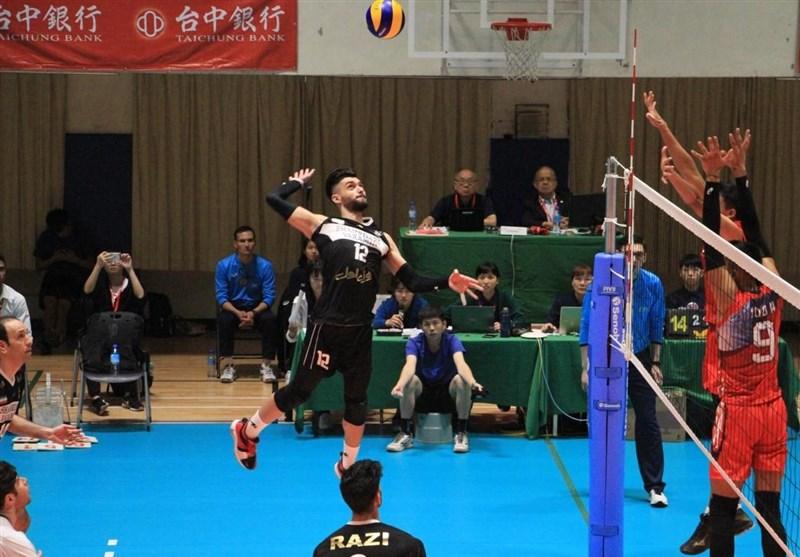 والیبال باشگاههای آسیا| شهرداری ورامین با انتقام از نماینده ژاپن قهرمان شد