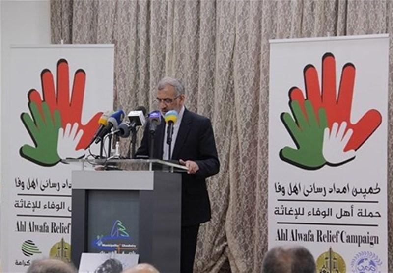 برگزاری همایش همبستگی 6 کشور اسلامی با سیلزدگان ایرانی در لبنان