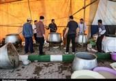 مینابیها در کربلا 14 روز از زائران اربعین پذیرایی میکنند