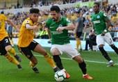 فوتبال جهان| برایتون بدون جهانبخش از «گرگها» امتیاز گرفت