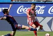 فوتبال جهان| اتلتیکومادرید با برتری دیرهنگام به تعقیب بارسلونا ادامه داد