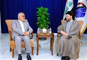 Iran's Boroujerdi, Iraq's Ammar Hakim Discuss Closer Parliamentary Ties