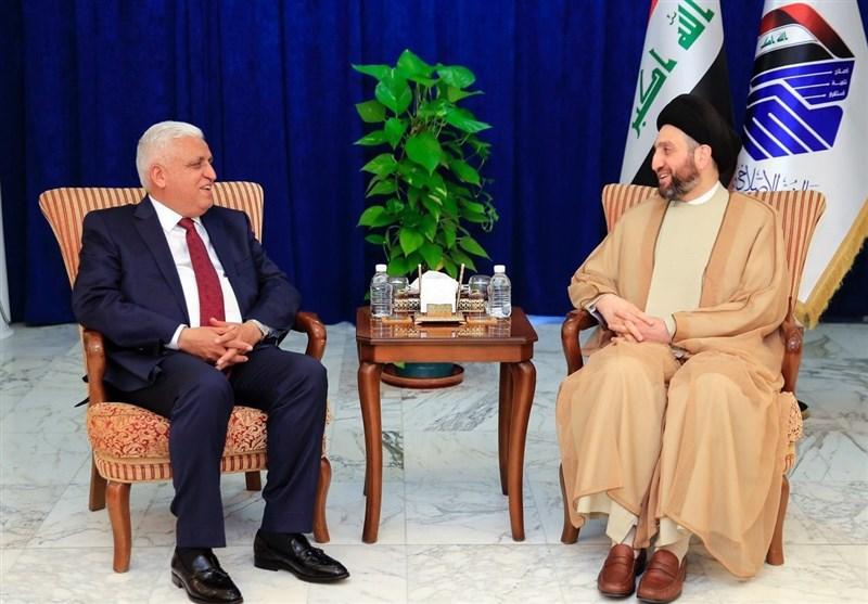 رایزنی فیاض و حکیم درباره تکمیل دولت/ تقدیر بروجردی از موضع عراق در قبال ایران +عکس