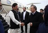 نخست وزیر پاکستان به مشهدمقدس سفر کرد